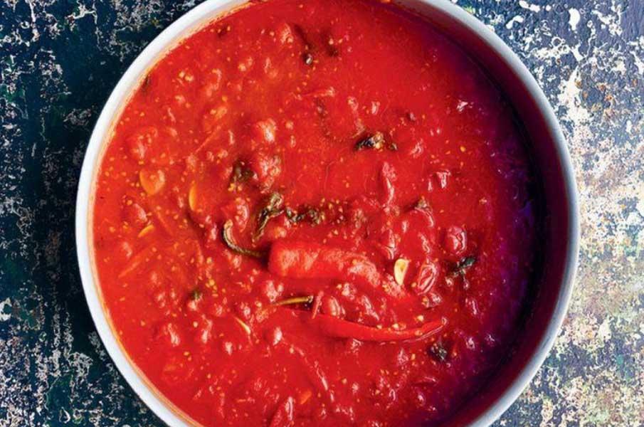 Jamie Oliver's Hero tomato sauce
